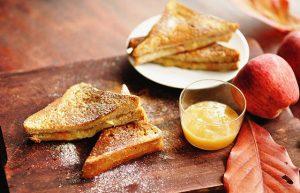 Bánh ăn dặm Sandwich bơ