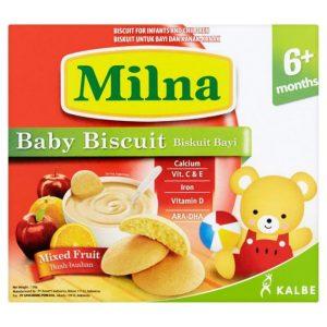 Danh sách các loại bánh ăn dặm cho bé trên 6 tháng
