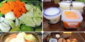 Cách chế biến rau ăn dặm kiểu Nhật