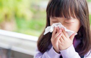 Những bệnh mùa xuân ở trẻ em thường gặp phải