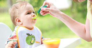 trẻ 1 tuổi ăn được những gì