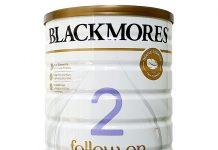 cách pha sữa Blackmores số 2