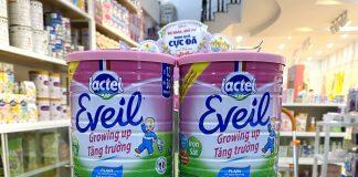 Sữa Lactel Eveil có tốt không